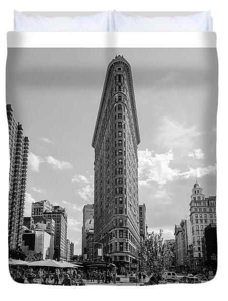 The Flatiron Building New York Duvet Cover