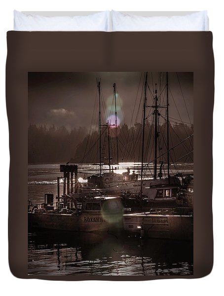 The Fleet Duvet Cover