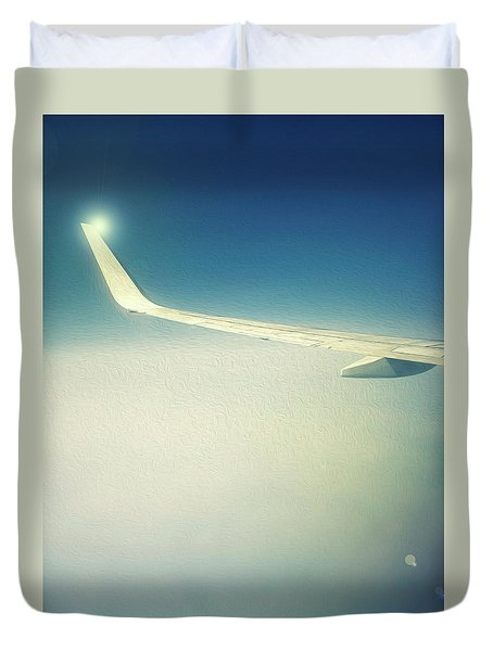 The Floating Wing Duvet Cover