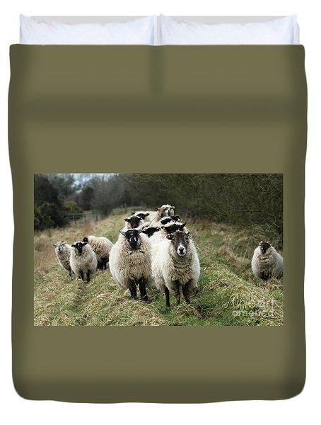 The Flock 2 Duvet Cover