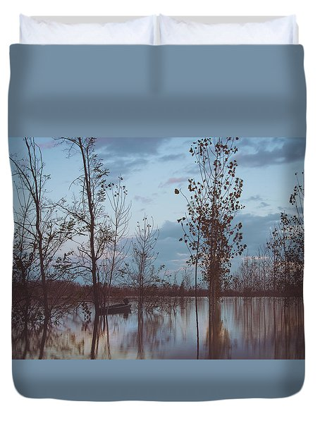 The Flood Duvet Cover