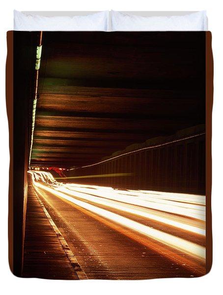 The Flow Of Traffic Duvet Cover