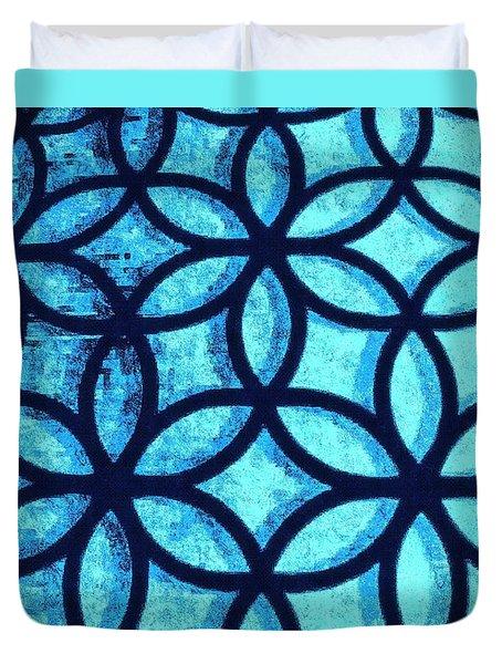 The Flower Of Life Duvet Cover