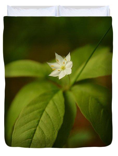 The Flower Of The Dark Woods Duvet Cover