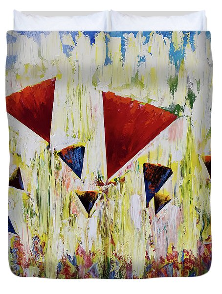 The Flower Party Duvet Cover