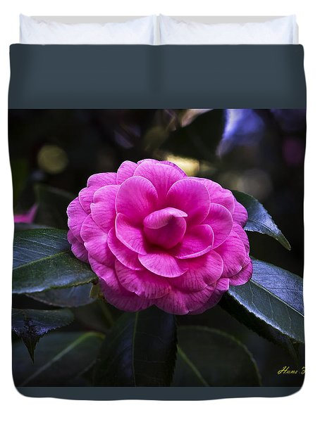 The Flower Signed Duvet Cover