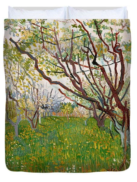 The Flowering Orchard, 1888 Duvet Cover