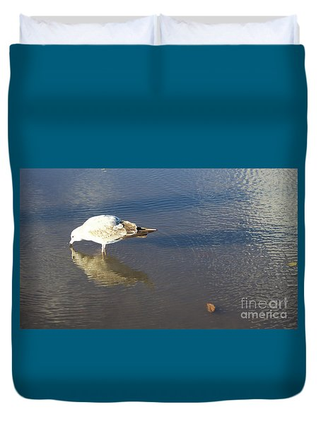 The Flying Narcissus Duvet Cover