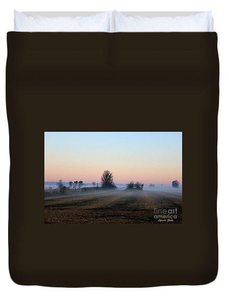 The Fog Duvet Cover