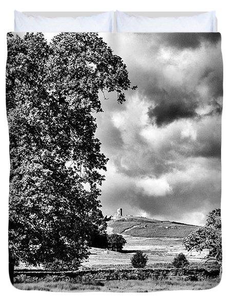 Old John Bradgate Park Duvet Cover