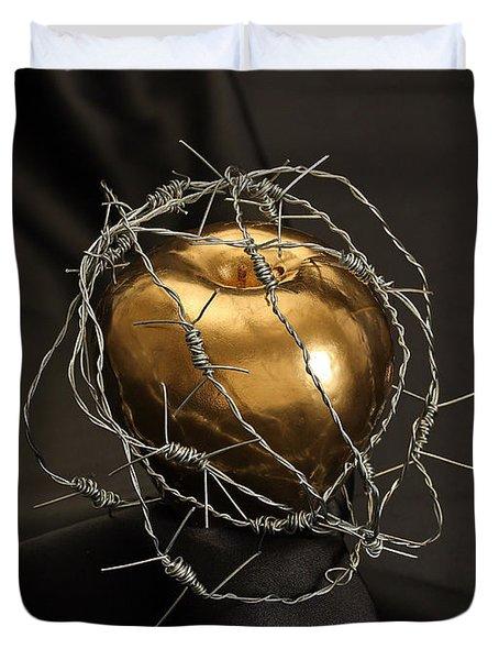 The Forbidden Fruit Duvet Cover