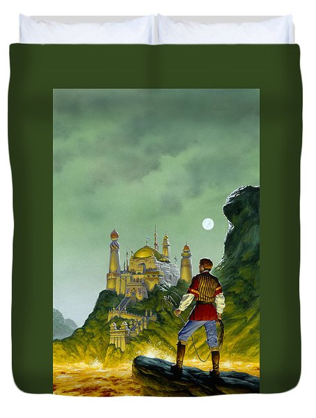 The Forbidden Palace Duvet Cover by Richard Hescox