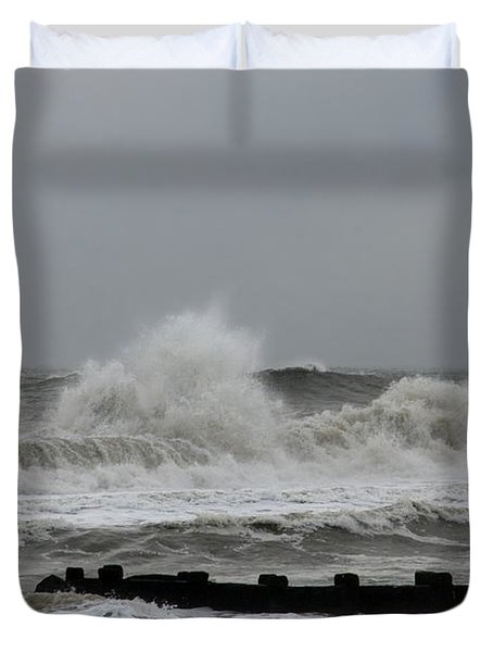 The Force Of Nature - Jersey Shore Duvet Cover