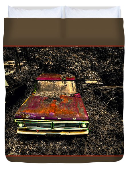 The Ford Duvet Cover