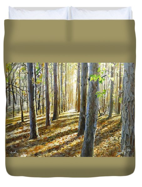 The Forest And The Trees Duvet Cover