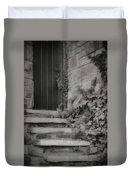 The Forgotten Door Duvet Cover