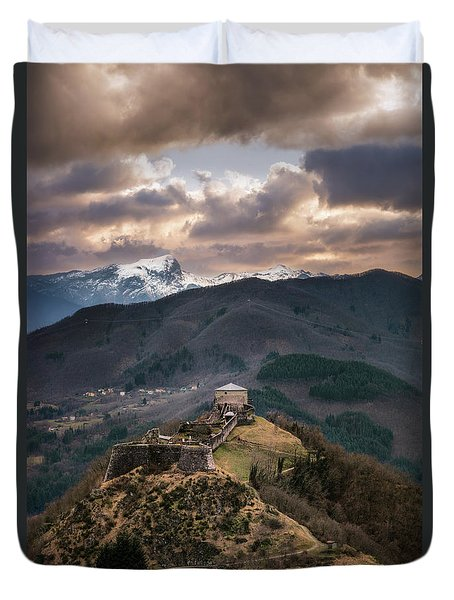 The Fortress Duvet Cover