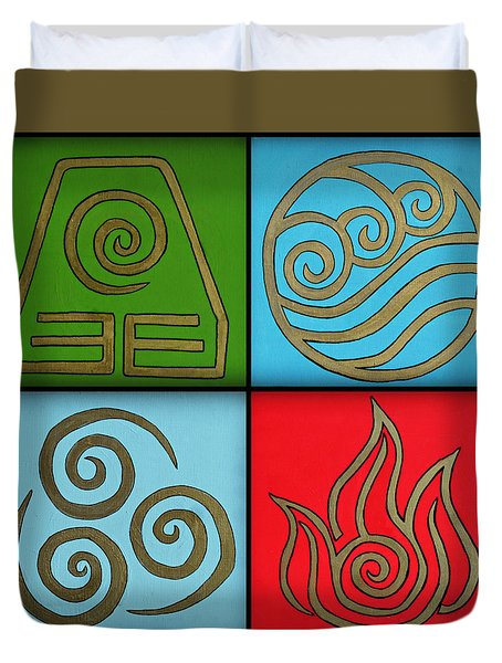 The Four Elements Duvet Cover