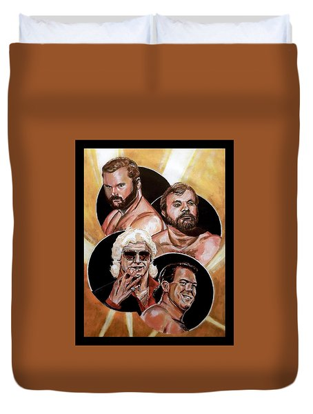 The Four Horsemen Duvet Cover