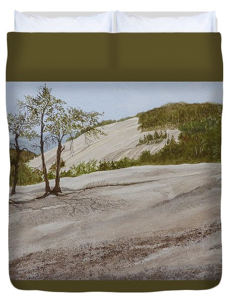 The Four Sisters Duvet Cover by Joel Deutsch