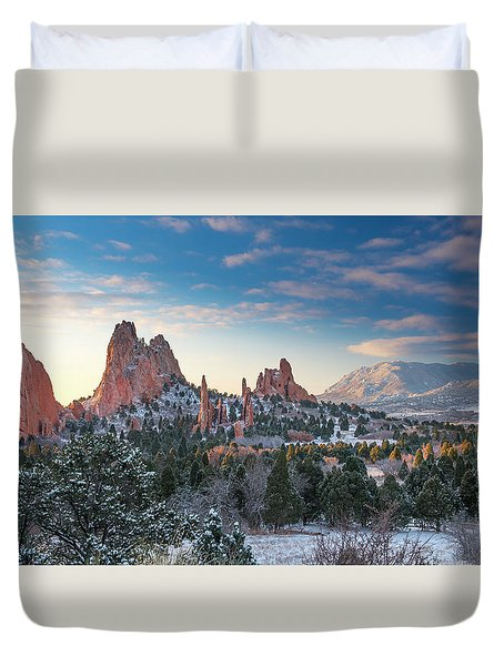 Duvet Cover featuring the photograph The Fourth Season by Tim Reaves