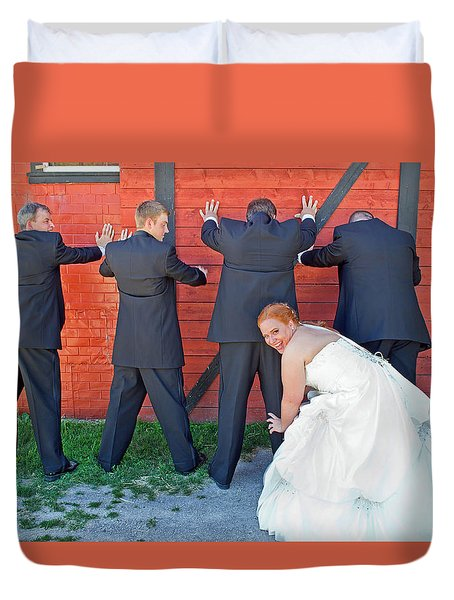 The Frisky Bride Duvet Cover