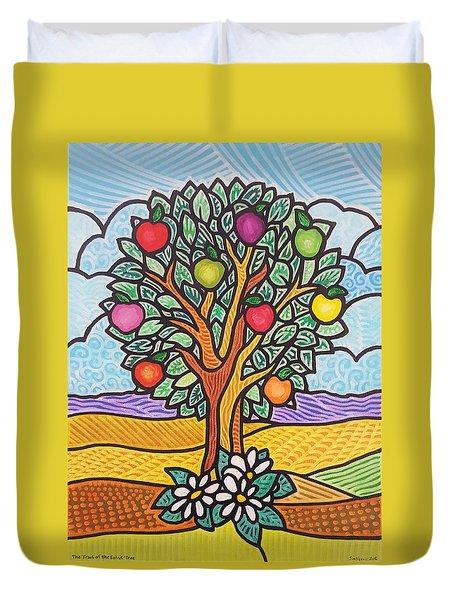 The Fruit Of The Spirit Tree Duvet Cover