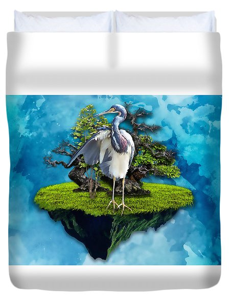 The Funtastic Journey Duvet Cover