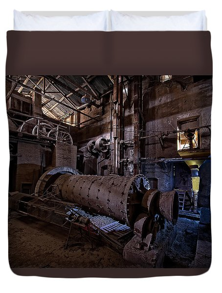 The Furnace And The Rocket 2  La Fornace E Il Razzo 2 Duvet Cover