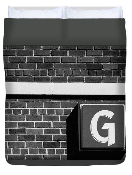 The G Spot Duvet Cover