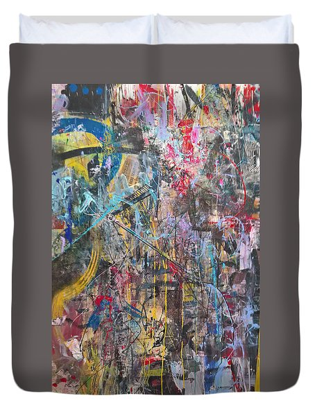 The Gamble Or Deconstructed Fish Duvet Cover