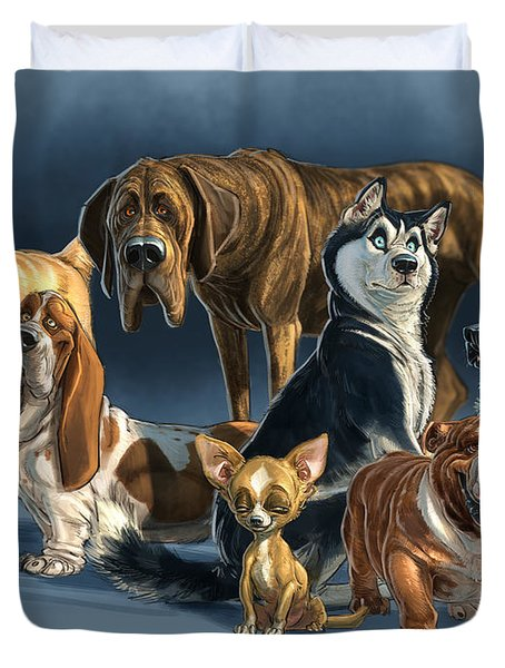 The Gang 2 Duvet Cover