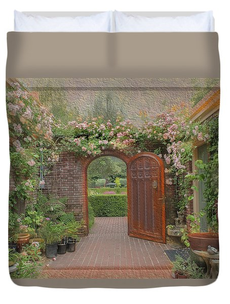 The Garden Door Duvet Cover