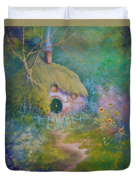 The Garden Gate Duvet Cover
