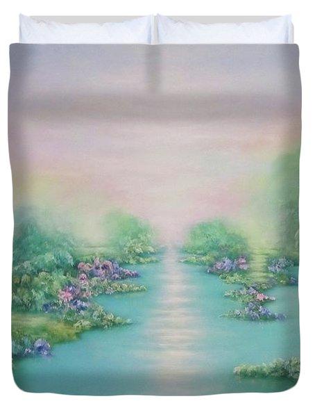 The Garden Of Eden Duvet Cover