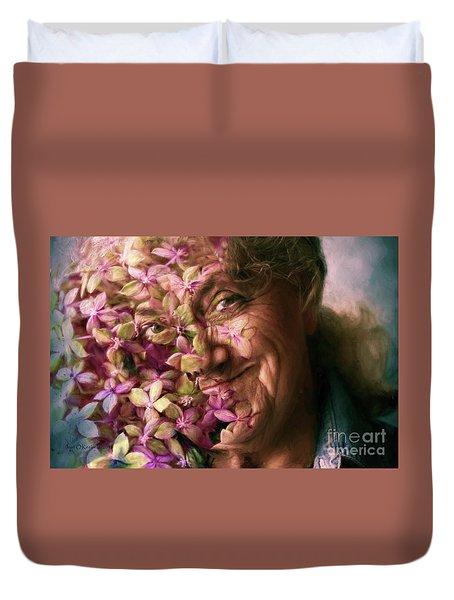 The Gardener Duvet Cover