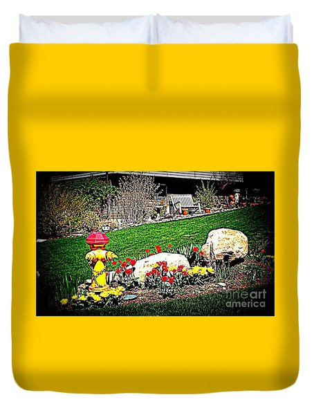 The Gardener Duvet Cover