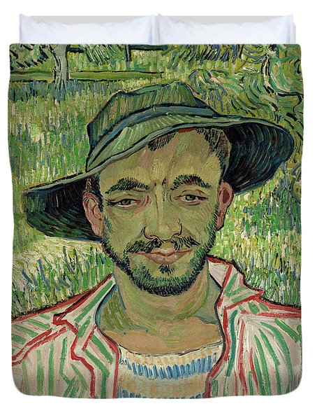 The Gardener, Young Peasant Duvet Cover