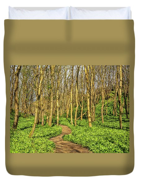 The Garlic Forest Duvet Cover by Roy McPeak