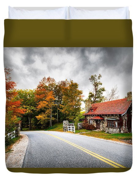 The Gate Keeper Duvet Cover