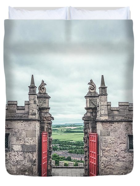 The Gate Of Evermore Duvet Cover