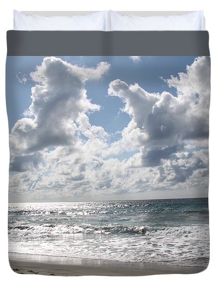The Gate Way To Heaven Duvet Cover by Amy Gallagher