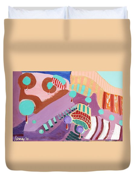 The Gates Of Hell Duvet Cover