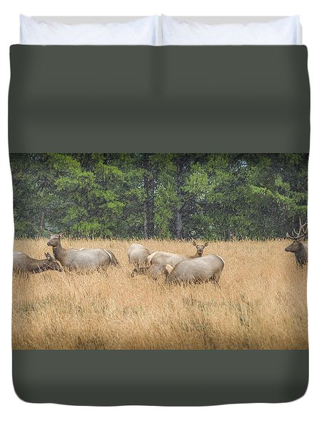 The Gathering Duvet Cover