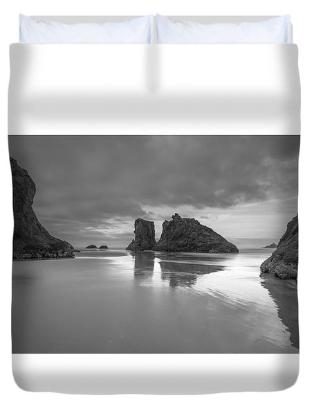 The Gathering Front Duvet Cover by Tim Bryan