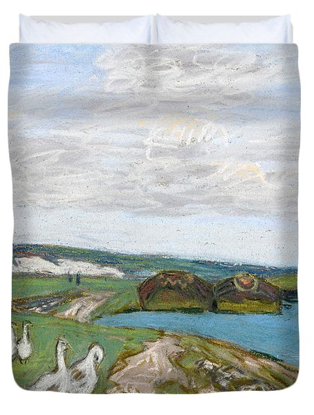 The Geese Duvet Cover