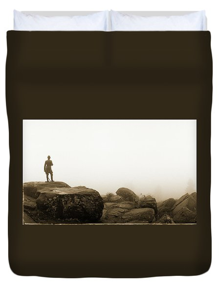 The General's View Duvet Cover