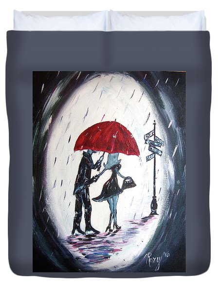 The Gentleman Duvet Cover by Roxy Rich
