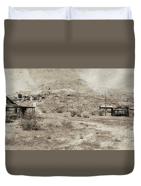 The Ghost Town Duvet Cover
