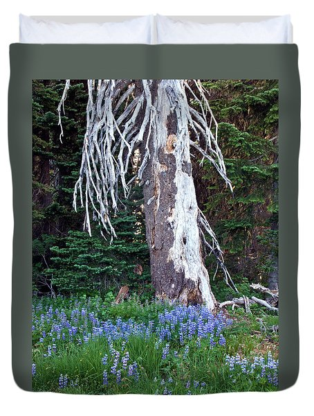 The Ghost Tree Duvet Cover